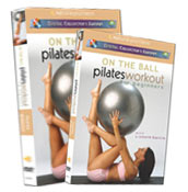 video and DVD On the Ball Pilates with Lizbeth Garcia